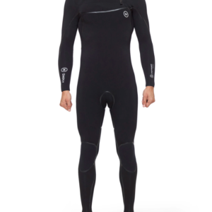 Deeply Traje De Surf Hombre Performance 4/3 Chest Zip Negro